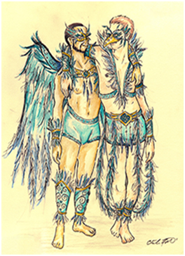 Bird Boys Costume for Costume Contest