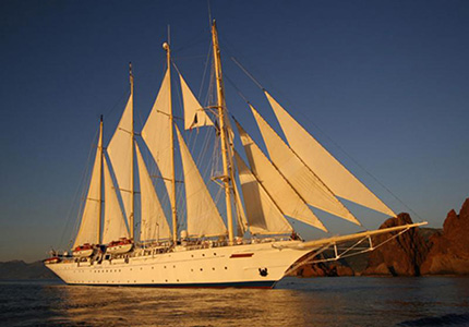 tall sailing ship dream vacation