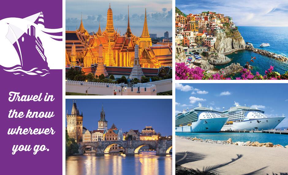 Purple Light Vacations Header