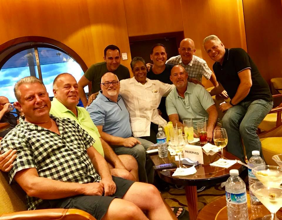 Pied Piper gay cruise friends