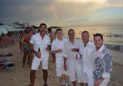 gay New Year's in Rio